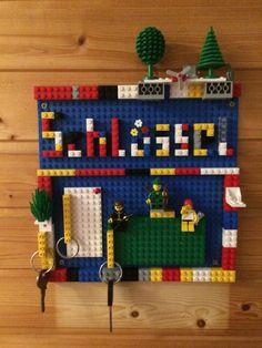 Schlüsselbrett aus Lego Advent Calendar, Lego, Holiday Decor, Creative, Home Decor, Boards, Homes, Decoration Home, Room Decor