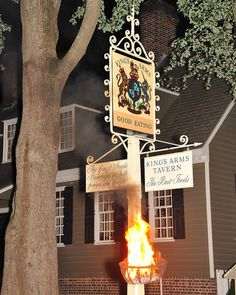 The King's Arms Tavern in Williamsburg, Virginia.