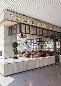 Tom's Kitchen. #Construir es el ARTE de CReAR Infraestructura... #CReOConstrucciones y #Remodelaciones.   Para tu negocio.   Toms, Kitchens and Ist…