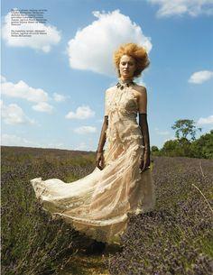 Stephanie Hall for ELLE Serbia by Christopher Maul and Leonn Ward