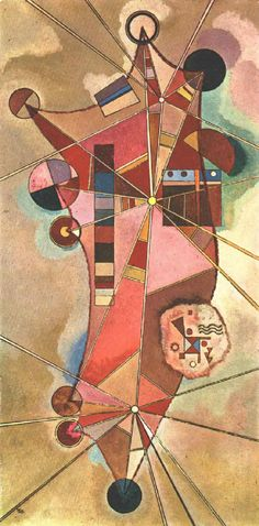 Wassily Kandinsky,  Fixed Points. 1929