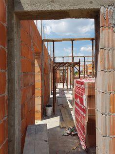 Casa pe parter in Corbeanca | CoArtCo House Foundation, Design Case, Architect Design, House Plans, House Styles, Civil Construction, Home Decor, South Africa, Tips