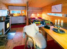 villa valtanen modern cabin - Lapland in Finland.  I want a cabin like this tucked away there- somewhere I can escape to and literally get away from everything and everyone.