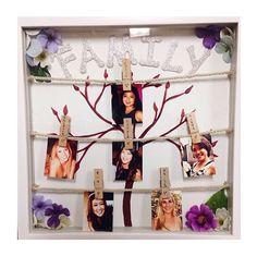 big/little idea ~ family tree shadowbox ♥