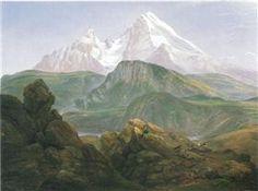 Der Watzmann - Johan Christian Dahl