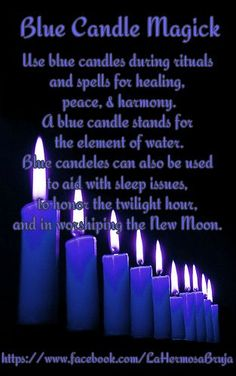 Blue Candle Magick https://www.facebook.com/LaHermosaBruja