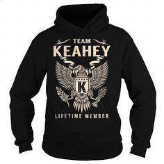 Team KEAHEY Lifetime Member - Last Name, Surname T-Shirt - #gift ideas #gift for men. MORE INFO => https://www.sunfrog.com/Names/Team-KEAHEY-Lifetime-Member--Last-Name-Surname-T-Shirt-Black-Hoodie.html?60505
