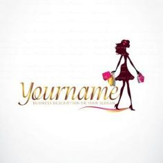 Free online logo creator ribbon logo maker design free logo woman shopping logo design free business cards reheart Gallery