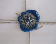 Nautical Star Self Adhesive Wax Seals