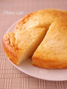 ホットケーキミックスとスライスチーズで簡単チーズケーキb