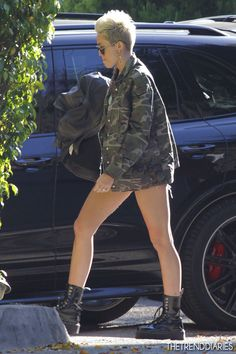Miley Cyrus out in Studio City, California - February 4, 2013