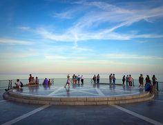 The Balcony of Europe, Nerja, Spain.