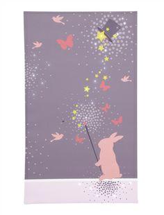 Toile lumineuse chambre fille thème magie rose, Chambre Enfant