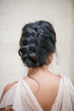 beautiful braided bridesmaid hair ideas