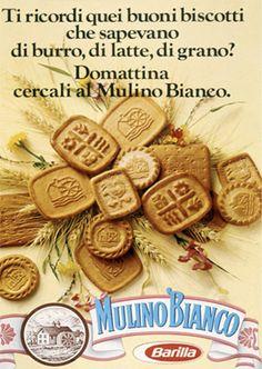 Mulino Bianco Barilla  - Vintage advertising