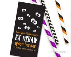 Non-Candy Halloween Treat Tags Halloween Tags by MarleyDesign