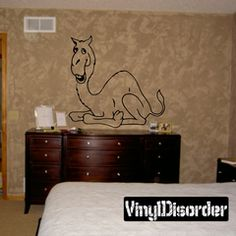 Camel Wall Decal - Vinyl Decal - Car Decal - DC001