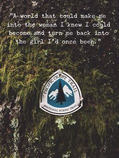 My favourite quote from Wild by Cheryl Strayed