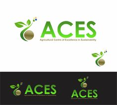 Create the next logo for ACES (Agricultural Centre of Excellence in Sustainability) Logo design by HAZET* Agriculture Logo, Farm Logo, Center Of Excellence, Green Logo, Branding, Logo Ideas, Logo Design Inspiration, Livestock, Sustainability