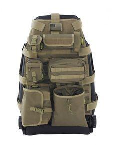 Tactical Car Sitzbezüge - Mit diesen Authentischen Autositzbezügen wird Ihr Auto im Handumdrehen zum gepanzerten Einsatzfahrzeug, zumindest wird es so aussehen! Neben dem wirklich coolen Look, bieten die Taschen an der Rückseite der Bezüge auch viel Stauraum.