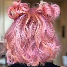 Antique Pastel Pink ❤ Want to get pastel pink hair? Rose ombre with dark roots, perfect pink highlights for blonde hair, and many ideas … Pink Hair Dye, Pastel Pink Hair, Hair Color Pink, Dyed Hair, Blue Hair, Blonde Pink, Lilac Hair, Gray Hair, Henna Designs