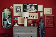 nice wall collage