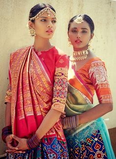 Indian Fashion - Handwoven Heritage Weaves by Gaurang Shah Models -...