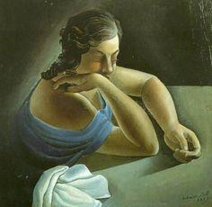Thought, 1925  Salvador Dali