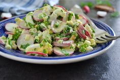 Good Healthy Recipes, Healthy Food, Salad Recipes, Potato Salad, Smoothies, Salads, Potatoes, Mint, Ethnic Recipes