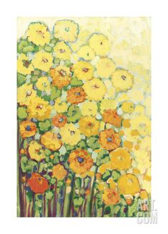Marigolds for Carson Giclee Print by Jennifer Lommers at Art.com