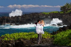 Epic! Hana Maui. #wedding photography