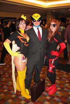 Dr. Mrs. The Monarch, Harvey Birdman, and Molotov Cocktease