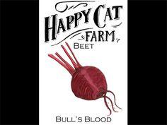 Happy Cat Farm seed packaging