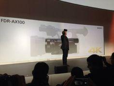 SonyLatinCES presenta CES 2014 una cámara portátil de mano HandyCam que permitirá grabar contenido en 4K