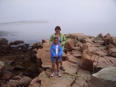 Acadia National Park, Maine, 2005. This was our third national park and Julia was 7. It still ranks in our top 5 favorite places. #maine #acadia #nationalpark