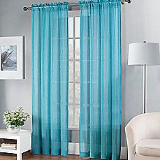 Fiesta® Sheer Window Curtain Panel