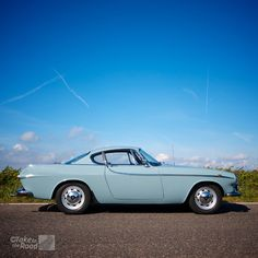 "A stunning 1966 Volvo P1800S, the coolest car ever made by Volvo. And it was made famous by Roger Moore in the tv series ""The Saint"". We had a great time filming this car."