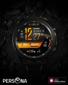Mens Fashion Suits, Watch Faces, Cool Watches, Persona, Samsung Galaxy, App, Sporty Watch, Fashion Watches, Hs Sports