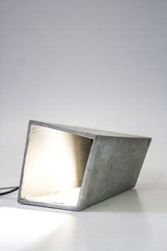 Concrete lighting | Hand Made Home and Garden Flower pots and Coffee Tables by Adam Christopher | adamchristopherdesign.co.uk
