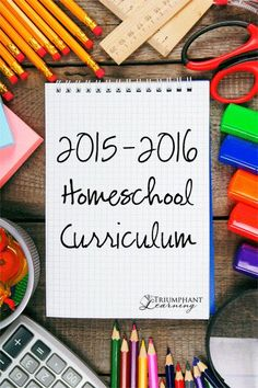 Our 2015-2016 homeschool curriculum. Book and resource suggestions for all subjects for 3rd grade and 5th grade.