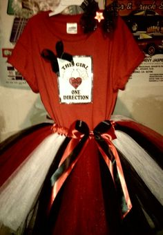 One direction Tutu outfit