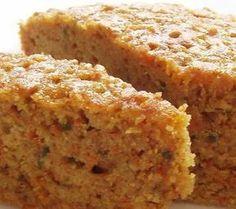 torta ligera de zanahoria con harina integral y sin azucar