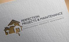 bunnypants perfection projects and maintenance logo design – Home Maintenance Web Design Studio, Id Design, Portfolio Web Design, Construction Business Cards, Construction Logo Design, Maintenance Logo, Property Logo, Real Estate Logo Design, Business Card Design
