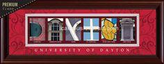 University of Dayton- The pictures spell Dayton! #Dayton