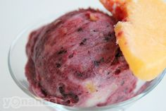 Peach Blueberry #Yonanas Recipe
