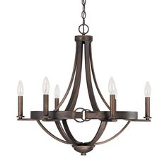 Cavalier Equestrian Buckle Chandelier - Shades of Light