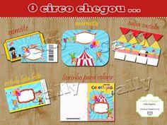 """CALLY'S  DESIGN-Kits Personalizados Gratuitos: Kit Gratuito de  Aniversário """"Circo"""" para Imprimir..."""