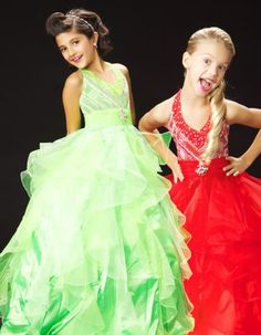 beautiful pageant dresses for little girls