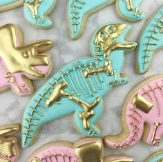 🦕🦖🦕Elegant Dinosaur Birthday Party Iced Sugar Cookies created by was featured on… Dinosaur Birthday Cakes, Dinosaur Cake, Birthday Cake Girls, Dinosaur Party, Birthday Cookies, 3rd Birthday Parties, Birthday Ideas, Third Birthday, Dragon Birthday