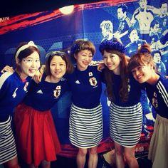 """kawaii supporter : """"Samurai Blue"""" Japan : 2014 FIFA World Cup Brazil : #WorldCup #SamuraiBlue"""